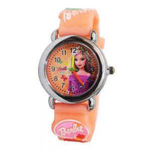 ساعت مچی عقربه ای بچگانه مدل باربی
